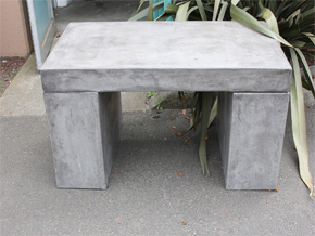 1.1mt Concrete Bench