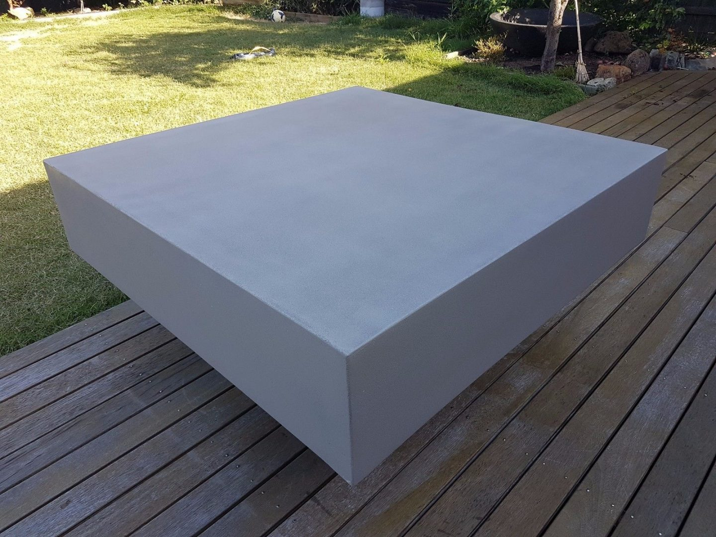 Cube Low Concrete Coffee Table