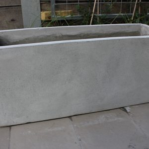 BATCH OF 6 x 120cm Long Ultra Lite Weight Concrete Planter Box